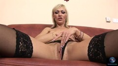 Sexy Betti Cane pleasures herself Thumb