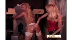 Bound blonde gets her ass spanked Thumb