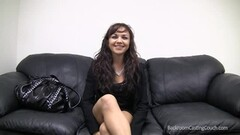 Backroom casting couch with hot brunette Thumb