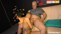 AmateurEuro - Old Couple Bang Hard for the Camera Thumb