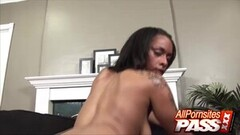 Bouncy Phat Arse Black Babe Amia Miley Cock Riding Thumb