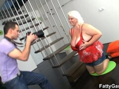 Slave girl punished by two guys Thumb